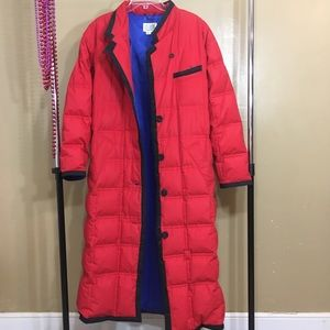Bill Blass - full length puffy coat